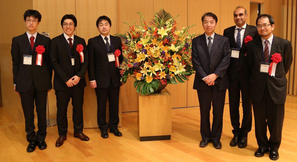 2016年10月27日、秋季大会 受賞者の写真