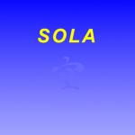 SOLA Award in 2019